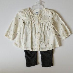 Other - Old Navy Infant Girl Set